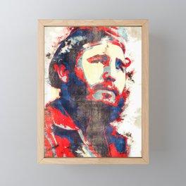 Fidel Fidel Castro Framed Mini Art Print