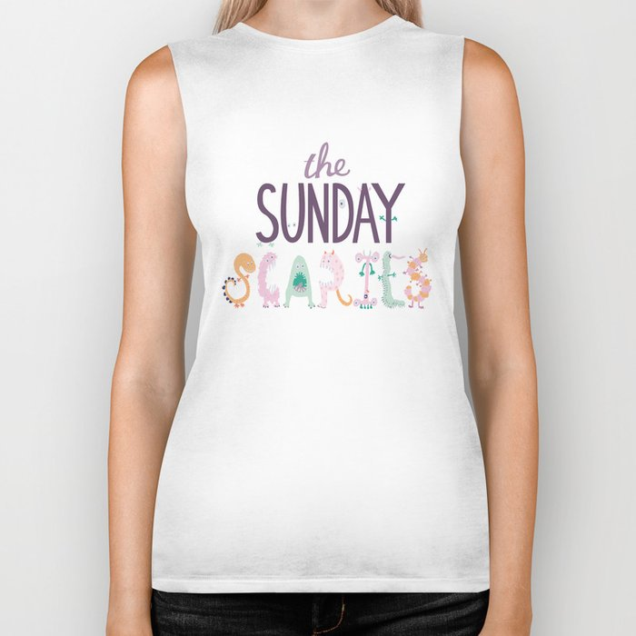 The Sunday Scaries Biker Tank