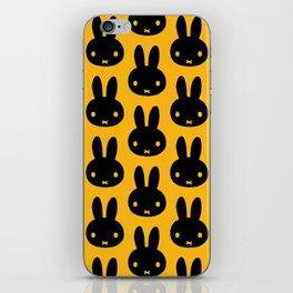 bunnies everywhere ultra pattern iPhone Skin