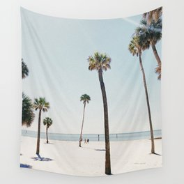 Summer Palm Trees Wall Tapestry