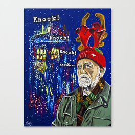 Wilfred Mott and the Four Knocks Canvas Print