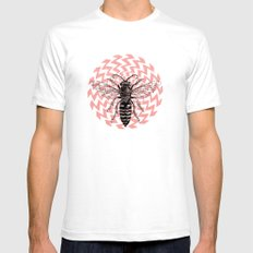 BK#0 SMALL White Mens Fitted Tee