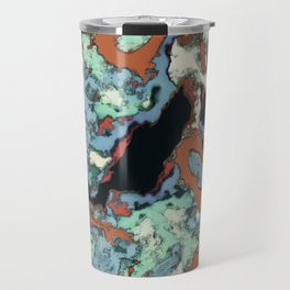 An elegant fall Travel Mug