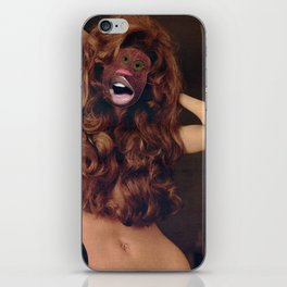 Redheaded Step Child  - Vintage Collage iPhone Skin