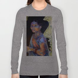 In the Temple's Shade Long Sleeve T-shirt