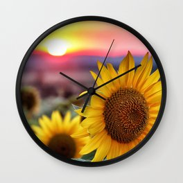 Flower Photography by Chastagner Thierry Wall Clock