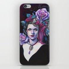 Madame Taxidermie iPhone & iPod Skin