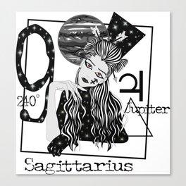Sagittarius - Zodiac Sign Canvas Print