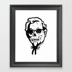 Skull Sanders No. 3 Framed Art Print