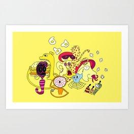 Freak Party Version 3 Art Print