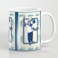 sailor Mugs featuring Sailor by SOFAR SOGOOD