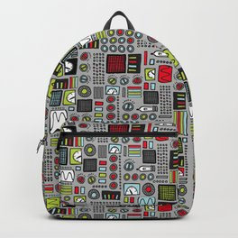 Robot Controls Backpack
