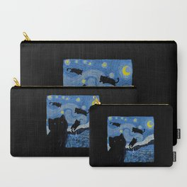 The Starry Cat Night Carry-All Pouch