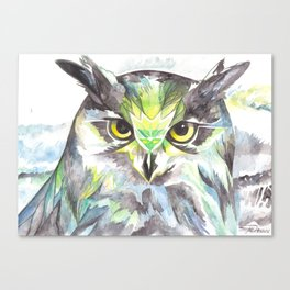 Dreamy Owl Canvas Print