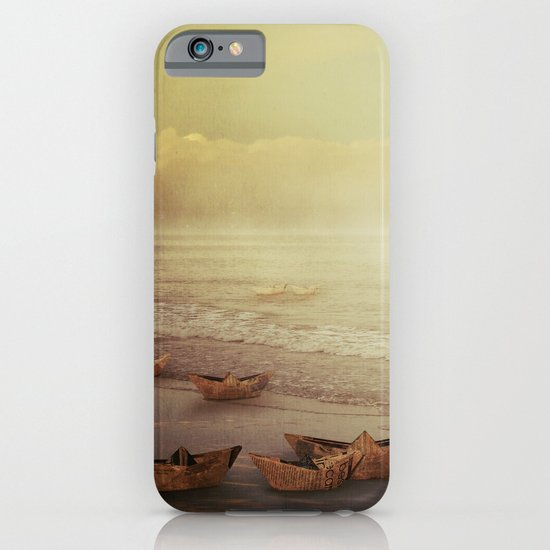 Paper Boats iPhone & iPod Case