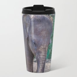 Baby Asian Elephant Travel Mug