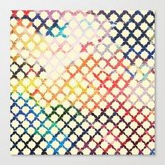 Paint Pattern Canvas Print