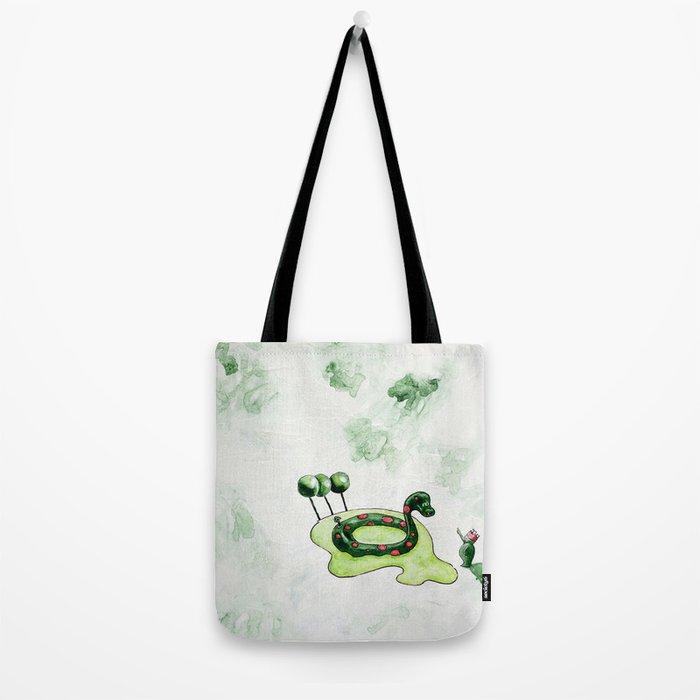 The Lake Monster Tote Bag