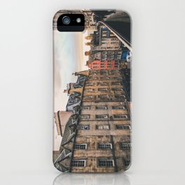 Edinburgh Sunset iPhone Case