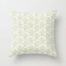 green cross Throw Pillow