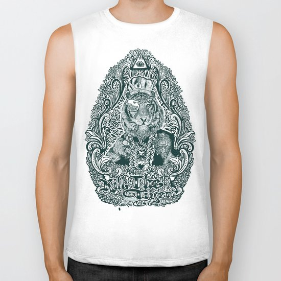 kill the tiger Biker Tank