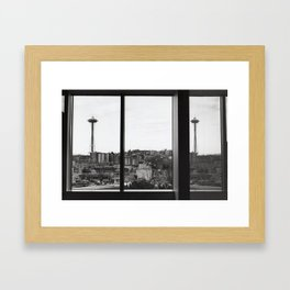 The Needle in its Natural Habitat Framed Art Print
