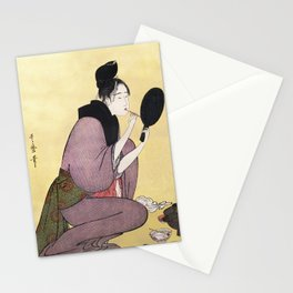 Vintage Japanese painting Stationery Cards