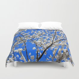 Cherry Blossoms in DC Duvet Cover