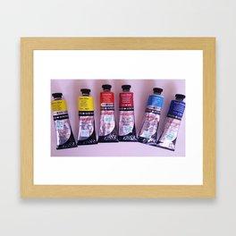 Limited Palette Framed Art Print