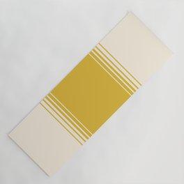 Marigold & Crème Vertical Gradient Yoga Mat