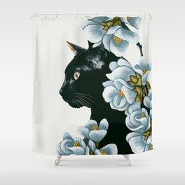 cat 2 Shower Curtain