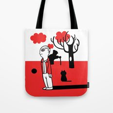 SILENCE IN THE PARK Tote Bag