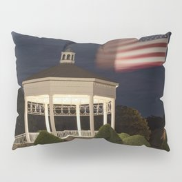 Stage Fort Park at night Pillow Sham
