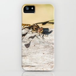 Hello Dragonfly iPhone Case