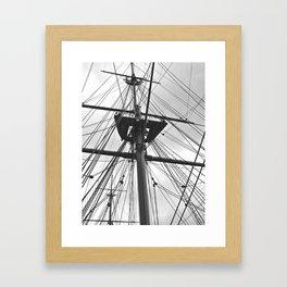 HMS Warrior II Framed Art Print