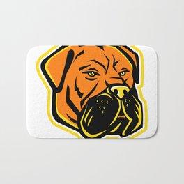 Bullmastiff Dog Mascot Bath Mat