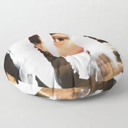 Untitled (Finger Paint 2) Floor Pillow