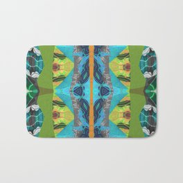 Merge Two or More Worlds Bath Mat