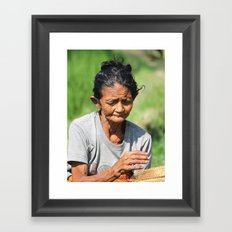 Hard Life Framed Art Print