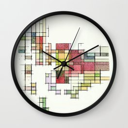 Cocktail Hour Wall Clock