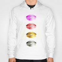 lips Hoodies featuring Lips by Mr and Mrs Quirynen