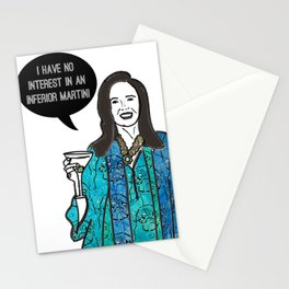 Inferior Martini Stationery Cards