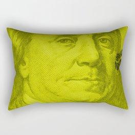 Benjamin Light (green lemon) Rectangular Pillow