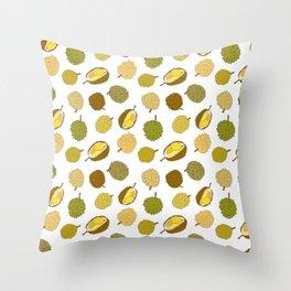 Durian Fruit Throw Pillow