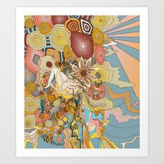 Great Fruits & Blood Oranges Art Print