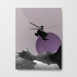 Apache Lake Metal Print