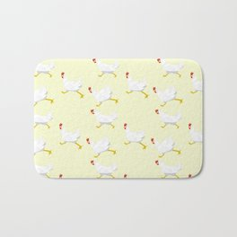Chicken soup Bath Mat