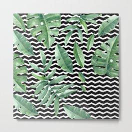 Tropical Geometry Metal Print