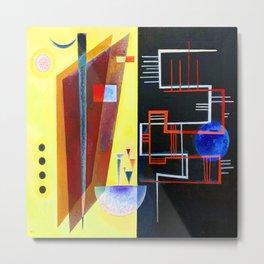 Wassily Kandinsky Inner Alliance Metal Print