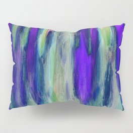 The Cavern in Shades of Purple and Green Pillow Sham